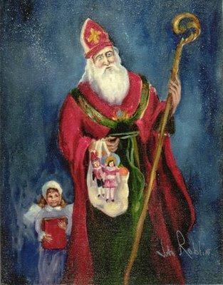Resultado de imagem para São Nicolau de Myra x Papai noel